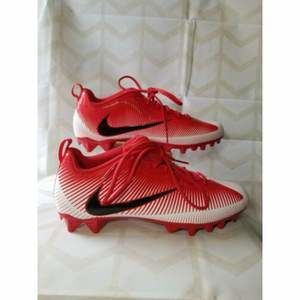 Nike Vapor Strike Low TD Football Cleats Red 13